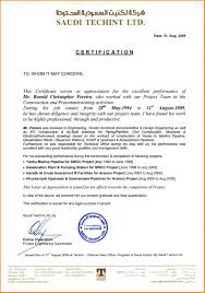 Free Work Experience Employment Certificate Template Visa New Experience Letter Work
