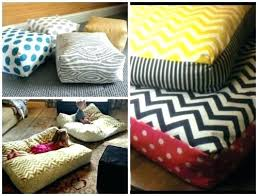 floor cushions diy. Large Floor Pillows Cheap How To Make Your Own  Giant . Cushions Diy
