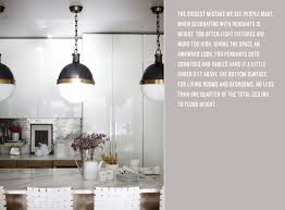 pendant lighting rue the biggest mistake we see people make when decorating with pendants is height too often light fixtures are hung too high