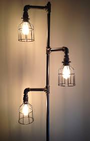really cool floor lamps. Interesting Floor Industrial Plumbing Pipe Floor Lamp By DownthePipeline On Etsy To Really Cool Lamps T