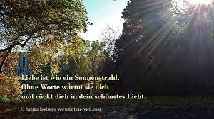 Liebe Ist Wie Ein Sonnenstrahl Liebe Poesie Spruch Zitat