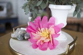 Tissue Paper Flower Tutorials 28 Fun And Easy To Make Paper Flower Projects You Can Make