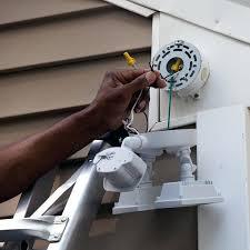 installing outdoor lighting fixtures garden match wiring attach wire connectors electrical tape regulations