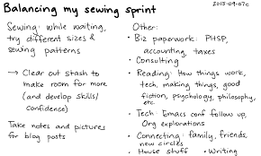 2015 09 07c balancing my sewing sprint index card planning balance interests hobbies png