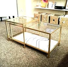 gold nesting tables gold nesting tables spray paint and some marble paper coffee table glass