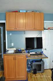 Good Staining Laminate Yes It Can Be Done, Home Office, Painting Cabinets
