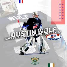 Congratulations to our own Dustin Wolf:... - Everett Silvertips Hockey Club  | Facebook