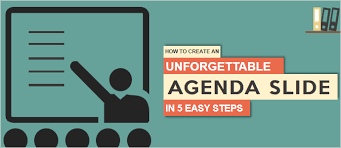 Powerpoint Create Slide Template How To Create A Fantastic Powerpoint Agenda Slide Template In 5