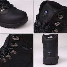 the gelert leather boot las walking boots feature a premium coated leather upper for serious outdoor performance with a full lace up closure and rugged