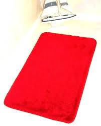 red bathroom rug set rugs bath sets trend bright chili pepper