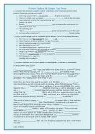 English Worksheets Present Perfect and Past Simple | Homeshealth.info