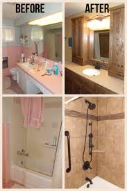 check out the before and after photos of the bathroom remodel project quite the transformation if your bathroom needs updating contact home check plus
