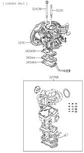 carburetor for hyundai excel hyundai parts deal 1994 hyundai excel carburetor diagram 31321b111