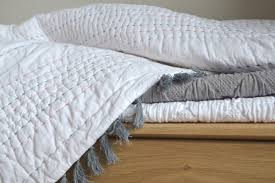 Bedspreads & Quilts | Bedding | Natural Bed Company & Juno chain stitch quilt Adamdwight.com