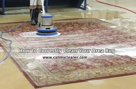 how to correctly clean your area rug