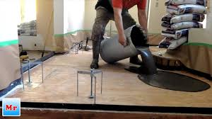 how to make plywood suloor leveling for tile installation mryoucandoityourself