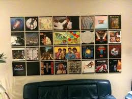 vinyl record display wall record holder display vinyl records on your wall wall mounted record storage