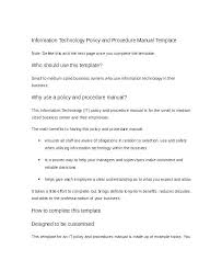 Procedure Note Template Security Procedures Template Security Procedures Template