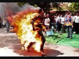 """Resultat d'imatges de """"the human torches of tibet"""" self-immolation"""