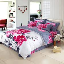 asian bedding set unique oriental style calligraphy and fl painting bedding sets queen king size cotton