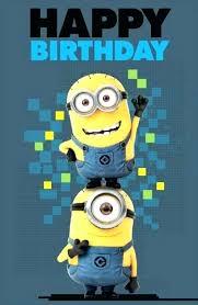 Minion Birthday Ecard Ecards Mucholingo