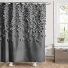 link gray lucia shower curtain