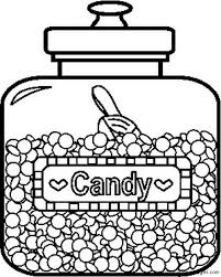 Small Picture Jar Black And White Coloring Coloring Pages