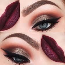glam y evening makeup