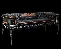 Coffin Couch Because A Coffin Is Too Small To Be A Functional BedCoffin Couch