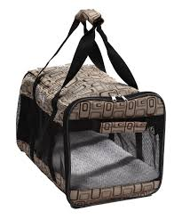 Designer Dog Carrier Pet Life Airline Approved Ultra Comfort Designer Dog Carrier