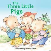cover of the three little pigs specialty publishing
