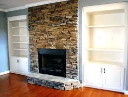 fireplace facade over brick stone veneer over k fireplace stairs s surround diy fireplace surround over