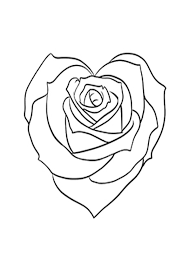 Rose coloring pages, lucy learns free rose coloring picture collection, rose coloring sheets for kids , rose bud, rose in bloom and rose with stem free coloring sheets. Coloring Pages Rose Heart Coloring Pages