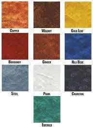 Garage Guard Color Chart Metal Fx
