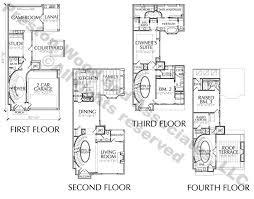townhouse floor plans. 4 Story Townhouse Floor Plan For Sale Plans
