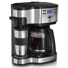 Coffee Maker K Cup And Pot Hamilton Beach 2 Way Coffee Brewer 49980z
