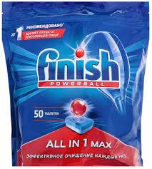 <b>Finish</b> Shine&Protect All in One (50шт) <b>Таблетки</b> для ...