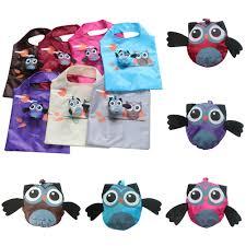<b>Cute Animal Owl</b> Shape Folding Shopping Bag Eco Friendly Ladies ...