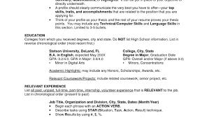 Medical Social Worker Resume Career Objectives For A Resume