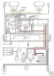 1965 volkswagen wiring diagrams diagram 1969 Vw Bug Wiring Diagram 1969 VW Speedo Wiring-Diagram