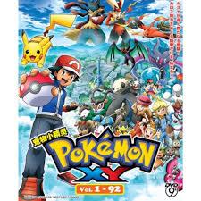 Pokemon XY Vol.1-92 宠物小精灵 Anime DVD, Music & Media, CD's ...