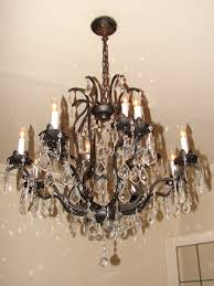 charming mini bronze crystal chandelier 25 with crystals stylish by fantasystock on deviantart within 11