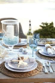 Nautical Table Settings 46 Charming Beach Wedding Table Settings Happyweddcom