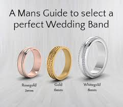 A Mans Guide To Select A Perfect Wedding Band