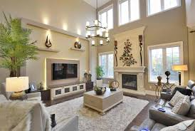 Large Living Room Decorating Idease