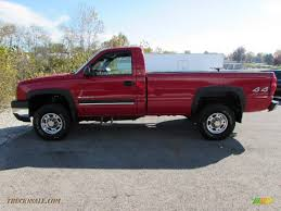 2003 Chevrolet Silverado 2500HD LS Regular Cab 4x4 in Victory Red ...