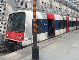 rer trains between charles de gaulle