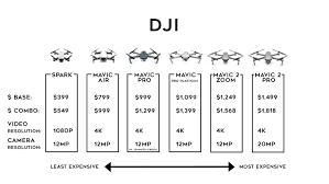 Dji Mavic 2 Pro Mavic 2 Zoom Buying Chart Travel Drone Guide