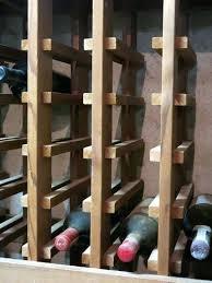Wine Racks Wine Rack Bottle Spacing Pallet Wine Rack Instructions