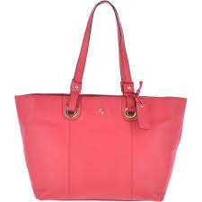 large leather tote bag raspberry 60252 handbags from leather company uk